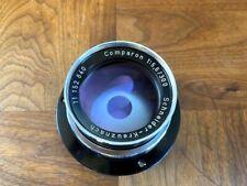 300mm f/5.6 Comparon Schneider-Kreuznach 4x5 5x7 8x10 Large Format Linhof Canham