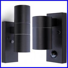 Up Down Garden Wall Light GU10 IP44 Outdoor PIR Motion Dusk Dawn Sensor Lamp