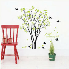 My Lime Orange Tree Birds Wall Decals Sticker Art Removable Home Room DIY Decor
