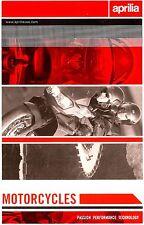 2002 APRILIA MOTORCYCLE & SCOOTER BROCHURE -FUTURA-FALCO-MILLE-CAPONORD-RS50/250