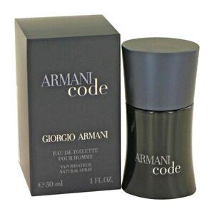 ARMANI CODE * Giorgio Armani * 1/1.0 oz (30ml) EDT Spray pour Homme NEW & SEALED