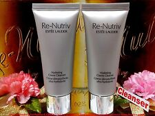"2PCS Re-Nutriv Hydrating Creme Cleanser By *Estee Lauder*(1oz/30ml) ""FREE POST"""