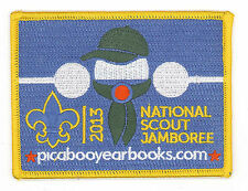 2013 USA BOY SCOUTS OF AMERICA -National Jamboree PICABOO YEARBOOK PROGRAM PATCH
