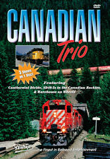 CANADIAN TRIO CANADIAN PACIFIC VIA AND MORE PENTREX DVD NEW VIDEO