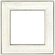 """Mill Hill Antique White Wood Frame 6"""" x 6"""" #GBFRM10 New"""