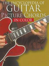 The Encyclopedia of Guitar Picture Chords in Color Sheet Music Book NE 014010345