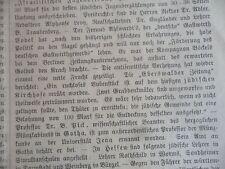 1896 14 Juden in  Eberswald Schändung jüdischer Friedhof