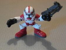 Galactic Heroes Clone Trooper Rojo Figura-Nuevo-Loose-Star Wars (gmt09)