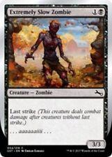 """4x Extremely Slow Zombie (VAR: B - """"...aaaaaaiiii..."""") MTG Unstable NM Magic Reg"""