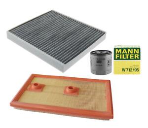 MANN-FILTERAir Oil Cabin Filters RAPKIT408 fits VW TIGUAN AD1, BT1 110 TSI
