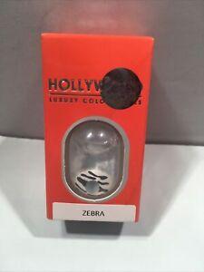 Zebra Contact lens Crazy Contact Lens (NO CASE)
