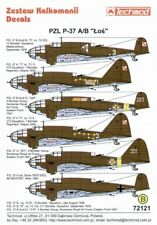 Techmod 1/72 PZL P.37A/B LOS # 72121