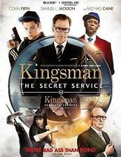 Kingsman: The Secret Service (Blu-ray Disc, 2015, Canadian)