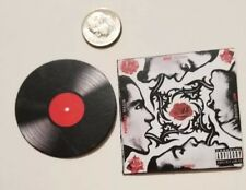 """Miniature Record Album Barbie  Action Figure 2""""  1/6 Red Hot Chili Peppers Blood"""