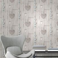 FINE DECOR LOVE YOUR HOME WALLPAPER BLUE FD41719 FEATURE WALL NEW