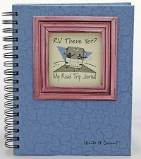 RV There Yet? Road Trip Journal (Blue with Pink Window)