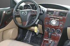 INTERIOR BURL WOOD DASH TRIM KIT SET FOR MAZDA 3 MAZD3 GS GT 2010 2011 2012 2013