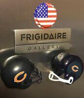 3D NFL Chicago Bears Fridge Magnet Lot 👻🧲 Handcrafted 2~Cool~4~School