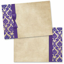 Print your own wedding invitations- Pack of 20 Blanks with envelopes