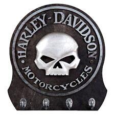 HARLEY DAVIDSON WILLIE G CUSTOM SCULPTED 3-D SKULL KEY RACK