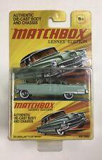 Matchbox 2011 Lesney Edition Mint Green '55 Cadillac Fleetwood NOS Free Ship!