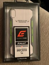 Element Case Rally Drop Tested case for iPhone Xs Max - Gray Green