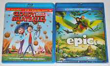Kid Blu-ray Disc Lot - Cloudy With A Chance of Meatballs (Used) EPIC (New)