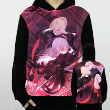 1PC Hot Anime Fate stay night Saber Pullover Long Sleeve T-Shirt Tops Coat