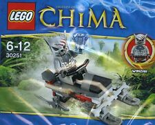 Lego Chima 30251 Winzar's Pack Patrol polybag Bn retired Chima minifigure wolf