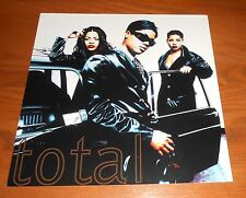 Total Debut Poster 2-Sided Flat Square 1995 Promo 12x12 R&B Rare