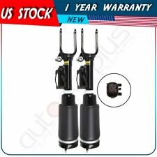 Front Pair Air Suspension Shocks For Mercedes W251 R320 R350 R500 R550 R63 AMG
