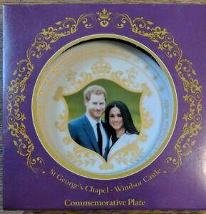 St. Geoarge's Chapel- Windsor Castle Commemorative Plate (Henry&Rachel)