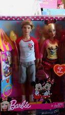 2011 Barbie and Ken going to Disneyland gift set