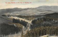 Edendale on the Way to Glendale, California c1910s Hand-Colored Vintage Postcard