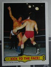 Andre the Giant WWF 1985 Topps Card #45 WWE Pro Wrestling Wrestlemania 3 Legend