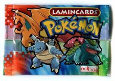 Pokemon Edibas Lamincards Booster Pack English Lamincard New Sealed