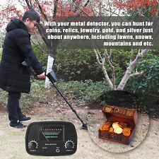High Sensitivity Metal Detector Gold Digger Hunter Waterproof Gtx5060 Us X5Q6