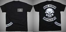 T-Shirt Böse Buben Club - Patch für hools, biker und Rocker