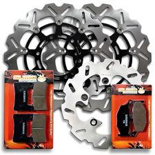 Suzuki F+R Brake Disc Rotor + Pads GSXR 600 & GSXR 750 (Only K8/K9) [2008-2010]