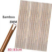 "32"" High Quality Bamboo Arrows Shafts Handmade Target Bow DIY Archery Hunting"