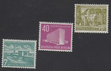 GERMANY, BERLIN STAMPS #9N108-9N110 — (3) ADDED VALUES --  1954 -- MINT
