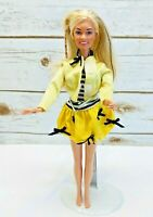 """SABRINA TEENAGE WITCH Doll Hasbro Viacom Prod 1997 Lever Yellow Outfit 12"""" Tall"""