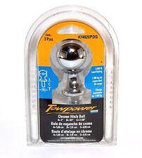 "New Reese Towpower 2"" Chrome Hitch Ball 74020 PDQ 2-3/8"" stem 3/4"" threads"