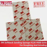 3M Softback Sanding Sponge - Practical grinding and polishing sets 120—600 Grits