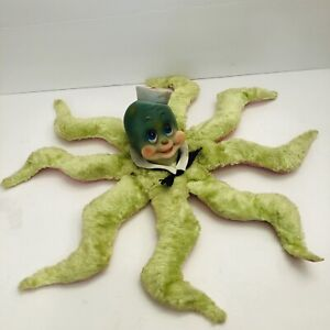 vintage rushton rubber face Octopus Marineland Sea World Souvenir Plush