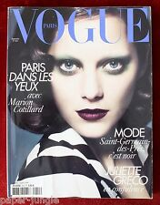 Vogue Paris ~ #910 September 2010 ~ Marion CotillardKate Moss Freja Erichsen