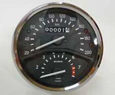 Tacho für BMW R75/5 mit Drehzahlmesser 20-200km/h , Wegdrehzahl: 0,715  NEU
