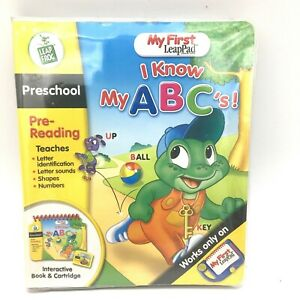 Leap Frog My First LeapPad I Know My Abc's Book and Cartridge Preschool