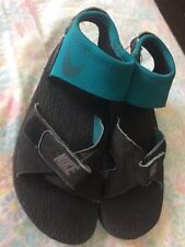 Nike Air Deschiitz Sandals Mens Shoe Size 9 Green Sport Ankle Strap 2002
