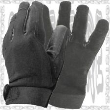 XL Biker Find Driver ATV Mechanic Police Shooting Hide Leather Hunt Glove Black